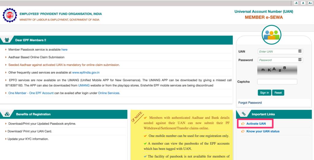EPFO login(Top 8 steps to check your PF balance online) - Askmoneyguru